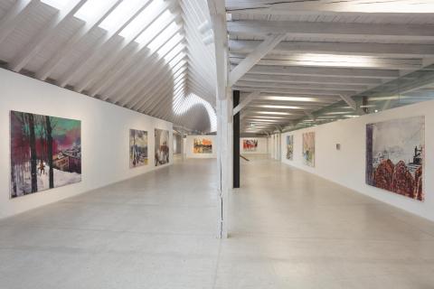 Ausstellung im 1. Obergeschoss