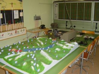 Im Nervenzentrum des Artillerie-Kommandopostens in Hondrich