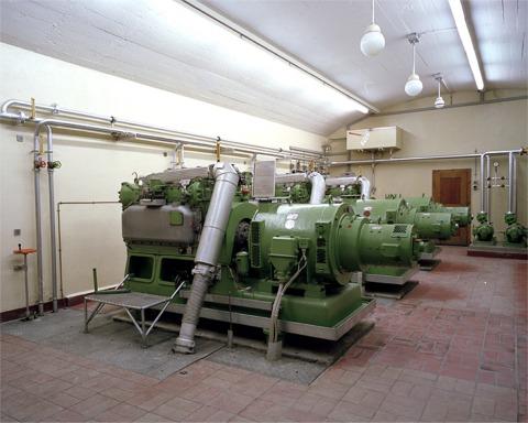 Fort Scex: Salle des machines