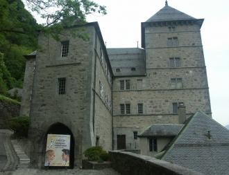 le château accueille des expositions temporaires d'art.