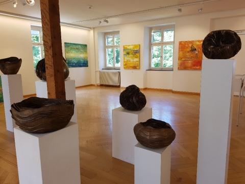 Blick in die aktuelle Ausstellung