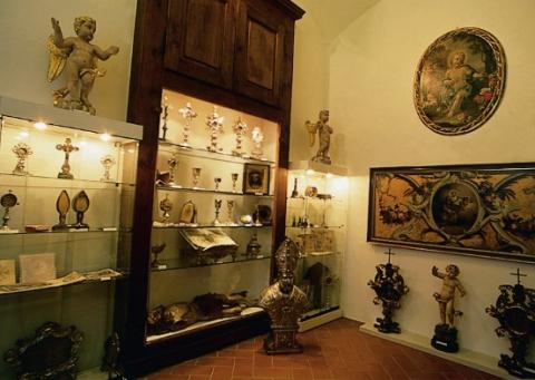 Sala espositiva, Sant\'Abbondio, Gentilino-Montagnola