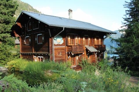 Grand chalet © Jardin botanique alpin Flore-Alpe