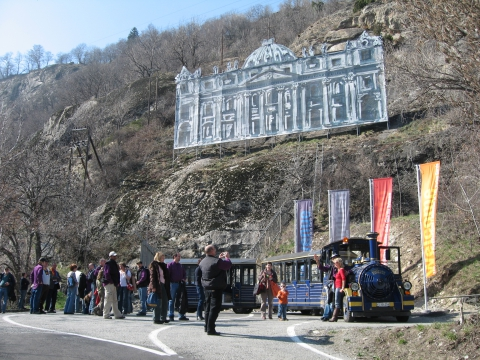 Das Museum befindet sich in der ehemaligen Festung  Naters.
