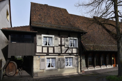 Dorfmuseum Bottmingen im Mathyse-Hus und Anbau.