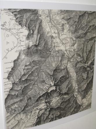 Karte der Umgebung St. Maurice