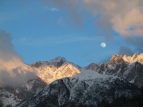 Winterlandschaft Scuol-Tarasp, Foto G. Göttmann