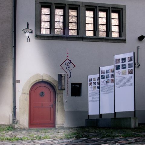 Eingang zum Stadtmuseum Bremgarten