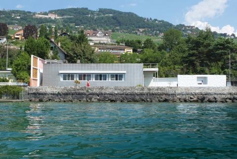 Villa «Le Lac» Le Corbusier - façade sud