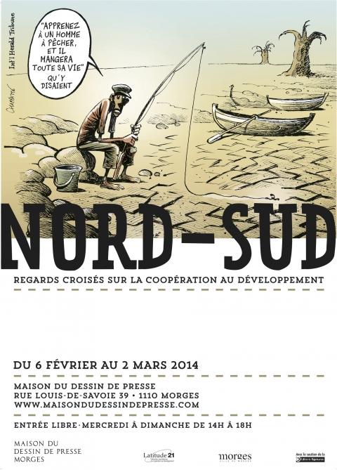 Affiche de l'exposition Graphisme: Jérémie Mercier