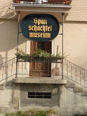 Willkommen im Spanschachtel-Museum