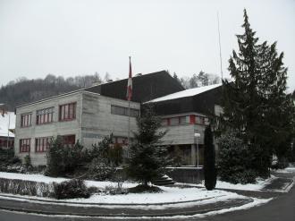 Gemeindehaus Brittnau mit Ortsmuseum im Dachgeschoss