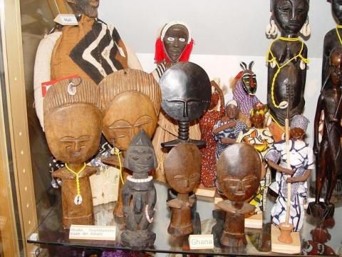 Afrikanische Fruchtbarkeitssymbole