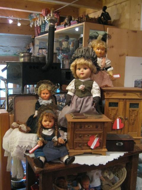 Alte Puppen