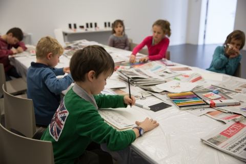 Ateliers et brunch pour les enfants le dimanche