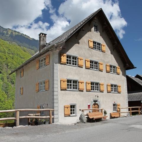 Zur Alten Post gehören ein Museum und heimelige Gaststuben.