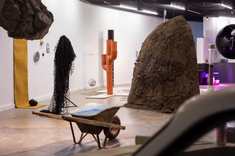 Ausstellungsansicht «Philipp Hänger» Kunsthalle Luzern 2020