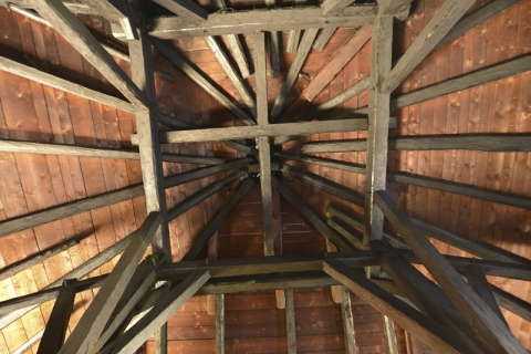 Der Dachstock aus dem 16. Jahrundert