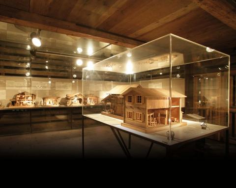 Ausstellungsraum im Ökonomiegebäude