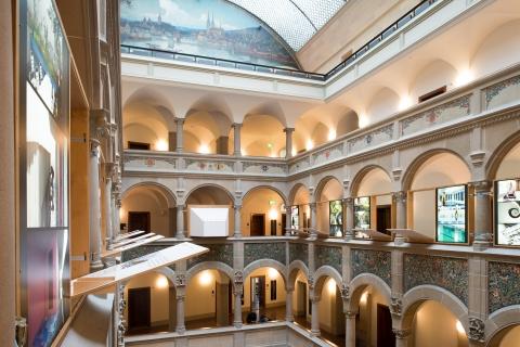 Ausstellung im Stadthaus Zürich, 2016. Foto: Juliet Haller
