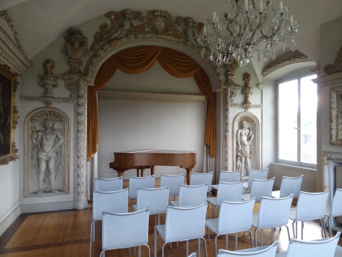 Theatersaal im Schlösschen Vorder-Bleichenberg