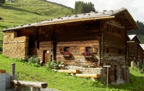 Museum Safien - ein typisches Wohnhaus aus früherer Zeit