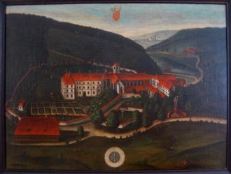 Abbaye de Lucelle au XVIII°siècle