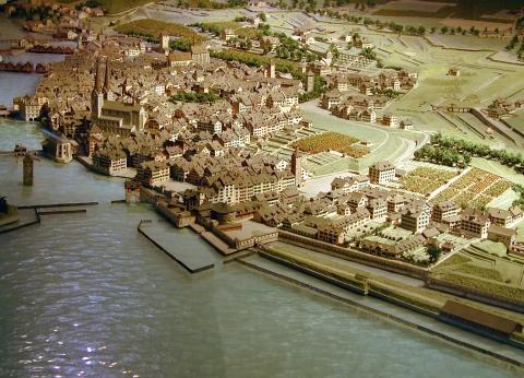 Ausschnitt Stadtmodell