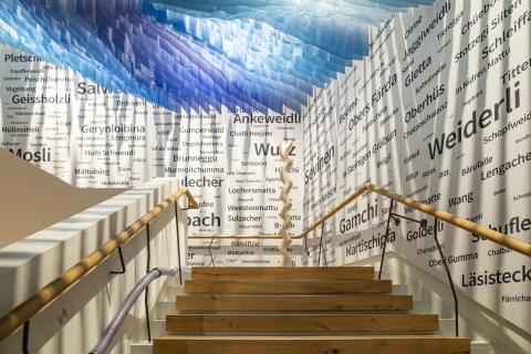 Der Zugang in die Ausstellung