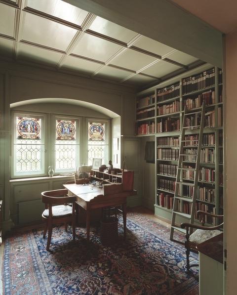Blick ins Studierzimmer von C.G. Jung