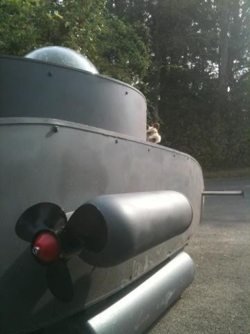 Bild vom Schmuggler-U-Boot