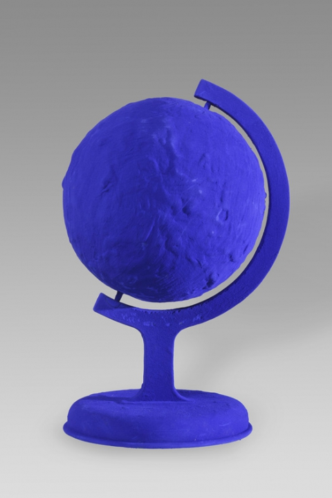 Yves Klein, La Terre bleue, 1957/1988, collection O. Mosset