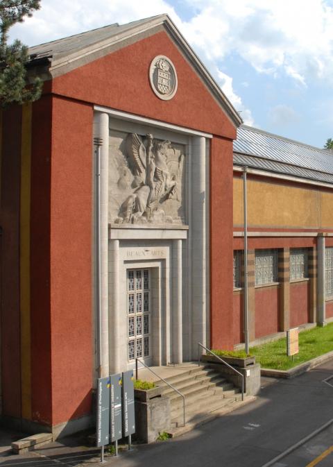 Musée des Beaux-arts de La Chaux-de-Fonds, façade principale