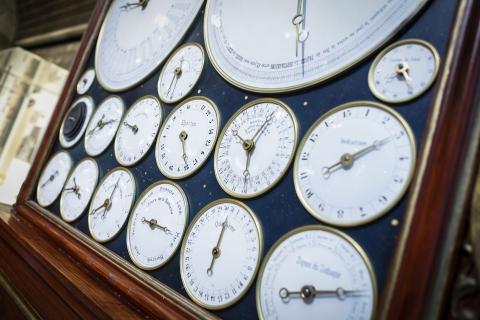 Horloge Delvart. © Ville de La Chaux-de-Fonds, J. Hoffman