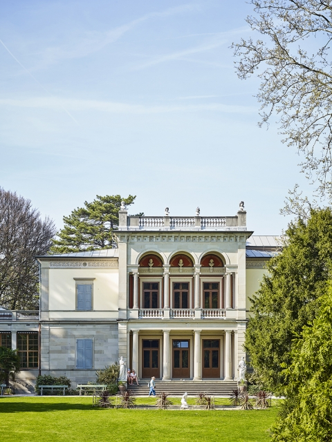 «Villa Wesendonck» Café, Sammlung, Park