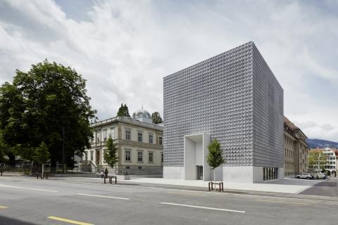 Bündner Kunstmuseum Chur: Erweiterungsbau und Villa Planta