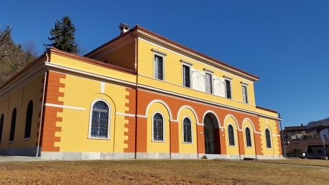 Museo del Malcantone, veduta esterna.