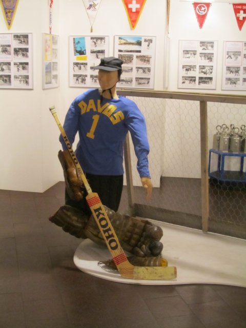 Hockeyspieler um 1920