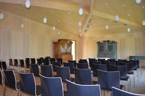 Museum Ackerhus, Kulturlokal mit Togenburger Hausorgeln