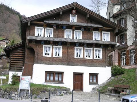 Das Talmuseum im Wappenhaus von 1786/87