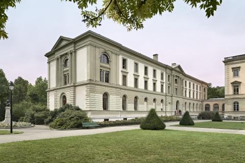 La Bibliothèque de Genève au Parc des Bastions