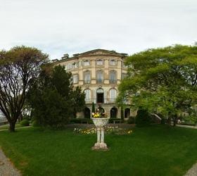 Jardin dans le magnifique Hotel Particulier