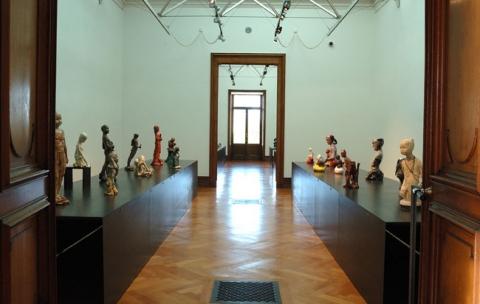 Salle Création contemporaine Photo :  Musée Ariana