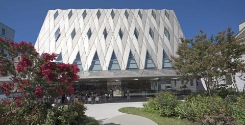 L'architecture du nouveau MEG (Photo: MEG, B. Glauser)