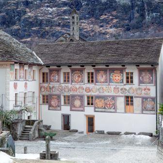 Casa Stanga, sede del Museo di Leventina G. Meyer, CDE