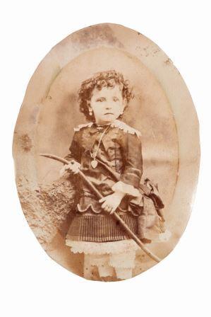 Ritratto di figlia di emigrati a San Francisco, 1870-1882