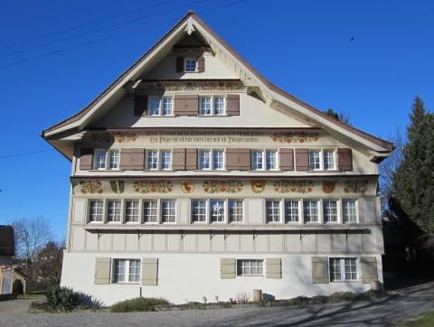 Das Ortsmuseum im ehemaligen Bürgerheim