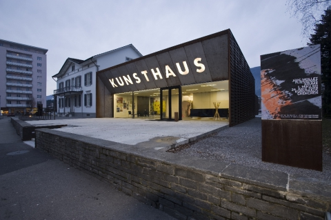 Kunsthaus Grenchen, Südseite, (c) KHG, Photo Jiří Vurma