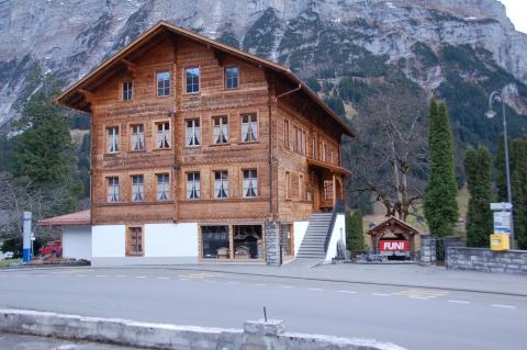 Das Grindelwald Museum seit 1963 im alten Schulhaus