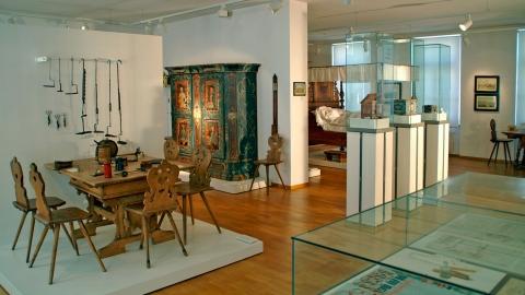 Blick in die lokalhistorische Abteilung